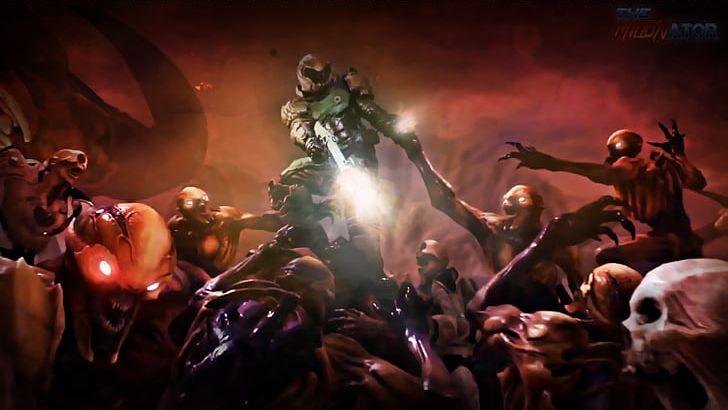 Doom II Doom 3 Doom 64 PNG, Clipart, 4k Resolution, 1080p