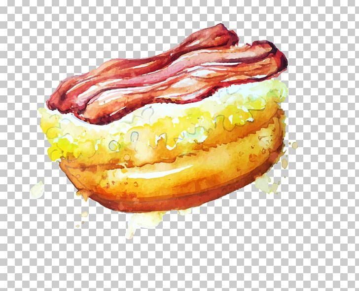 Food Watercolor Painting Doughnut Png Clipart American Food Boy Cartoon Bread Bread Vector Cartoon Free Png
