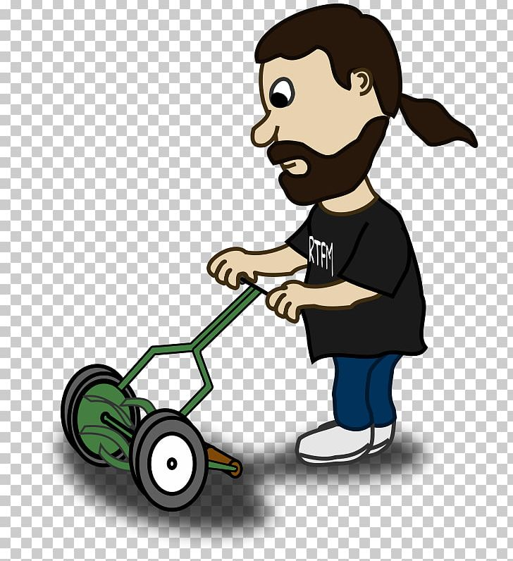 Lawn Mower Cartoon PNG, Clipart, Cartoon, Cutting, Dalladora, Film Reel Clipart, Human Behavior Free PNG Download
