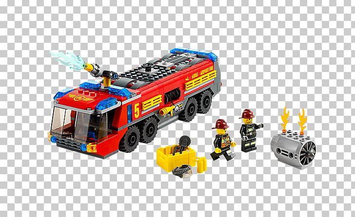 Lego 60061 City Airport Fire Truck Amazoncom Lego Minifigure Toy