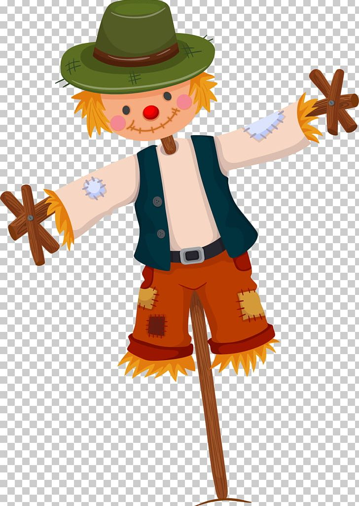 Scarecrow Illustration PNG, Clipart, Cartoon, Cartoon Wheat, Costume, Drawing, Encapsulated Postscript Free PNG Download