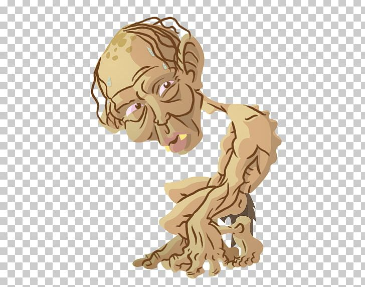 Gollum Fan Art The Hobbit The Lord Of The Rings Png Clipart