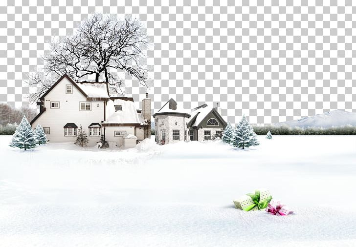 Snow Winter Lidong Photography PNG, Clipart, Adobe Illustrator, Advertise Here, Blizzard, Building, Cottage Free PNG Download
