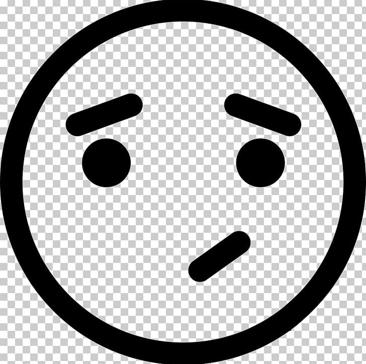 Emoticon Smiley Computer Icons Symbol PNG, Clipart, Black And White, Circle, Computer Icons, Disappointment, Download Free PNG Download