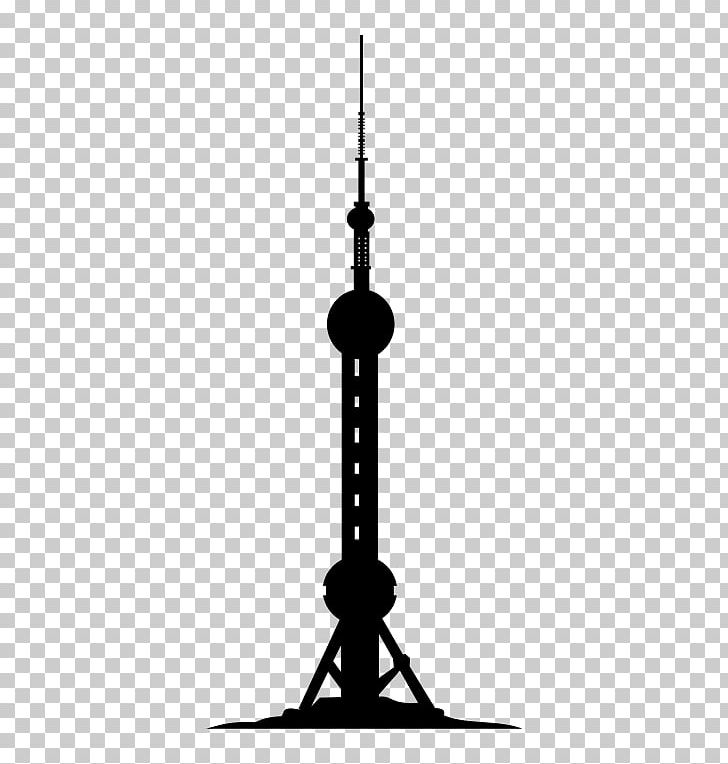 Oriental Pearl Tower Shanghai Tower Burj Khalifa Drawing PNG, Clipart, Black And White, Building, Burj Khalifa, Candle Holder, Drawing Free PNG Download