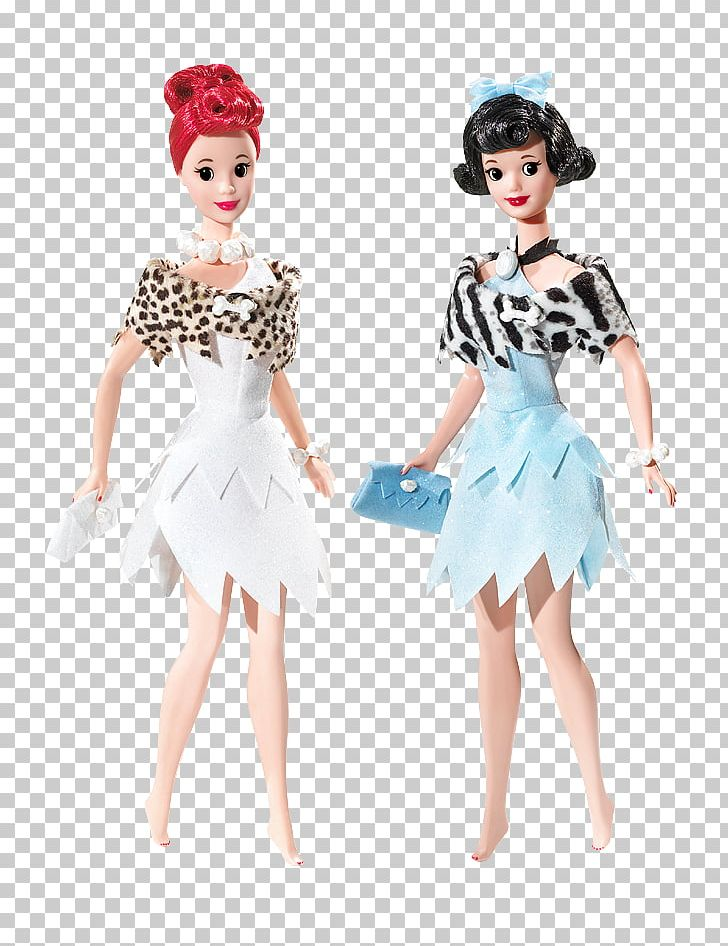 Betty Rubble Wilma Flintstone The Flintstones Barbie Doll Giftset Barbie Doll 2008 Png Clipart Art Barbie Barney and betty rubble costume set. betty rubble wilma flintstone the