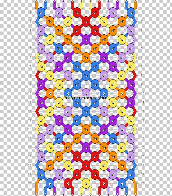 Friendship Bracelet Embroidery Thread Pattern Png Clipart