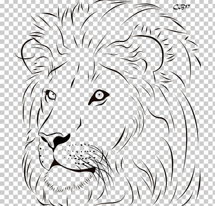 Drawing Lion Artwork