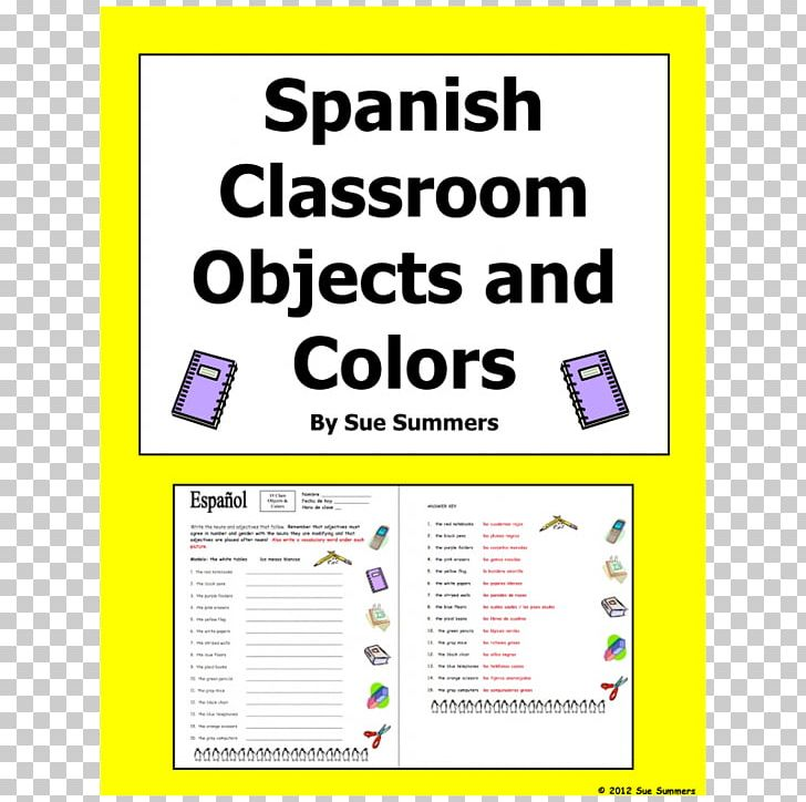 Classroom Spanish Object Pronoun Worksheet PNG, Clipart, Agreement ...