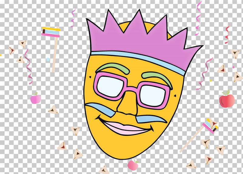 Purim Jewish Holiday PNG, Clipart, Cartoon, Facial Expression, Holiday, Jewish, Purim Free PNG Download