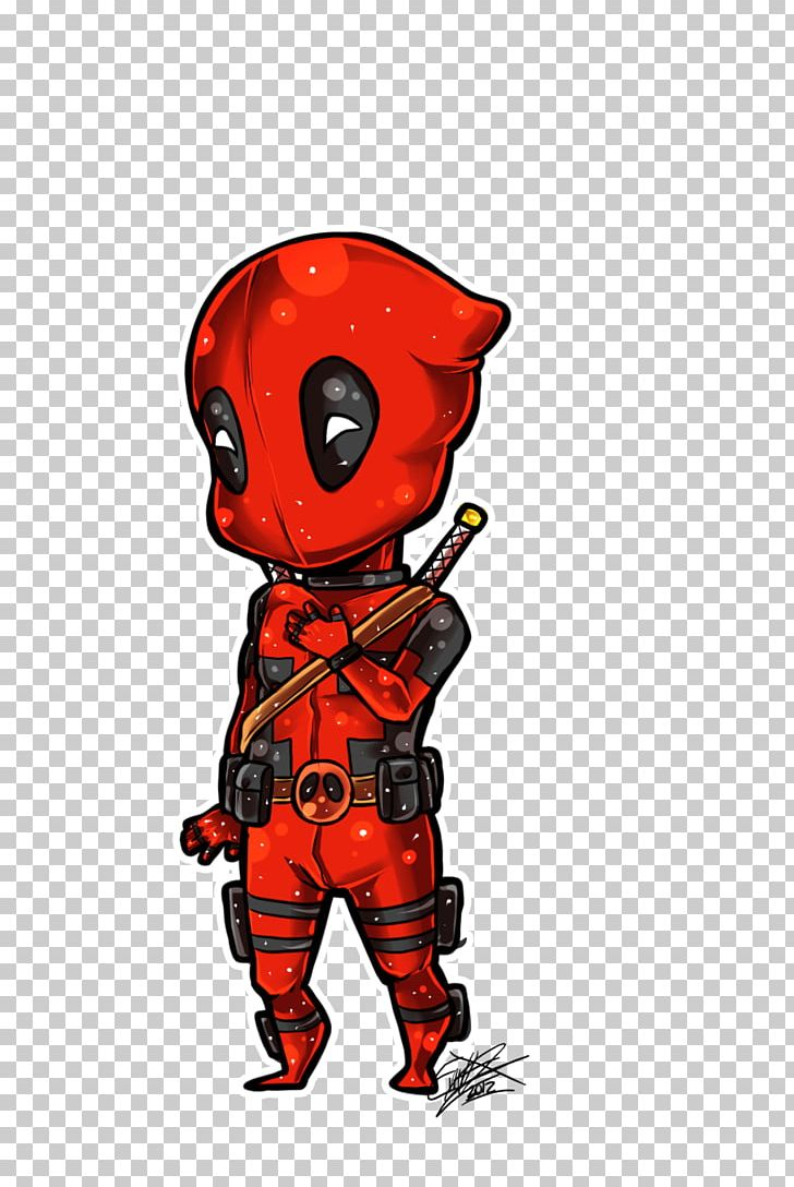 Spider Man Deathstroke Deadpool Chibi Drawing Png Clipart