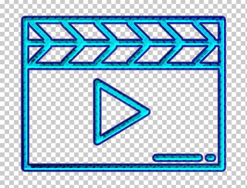 Movie  Film Icon Clapperboard Icon PNG, Clipart, Clapperboard Icon, Electric Blue, Line, Movie Film Icon, Rectangle Free PNG Download