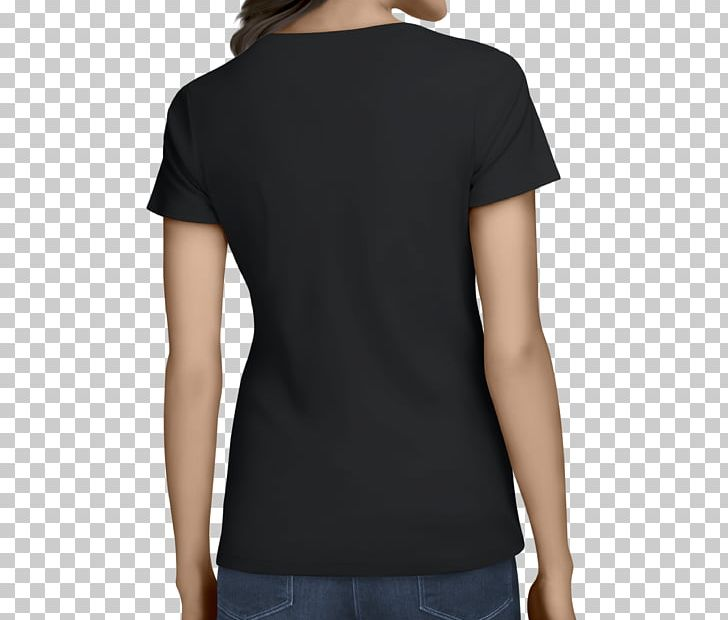 Printed T-shirt Long-sleeved T-shirt PNG, Clipart, Black, Clothing, Collar, Drawing, Joint Free PNG Download