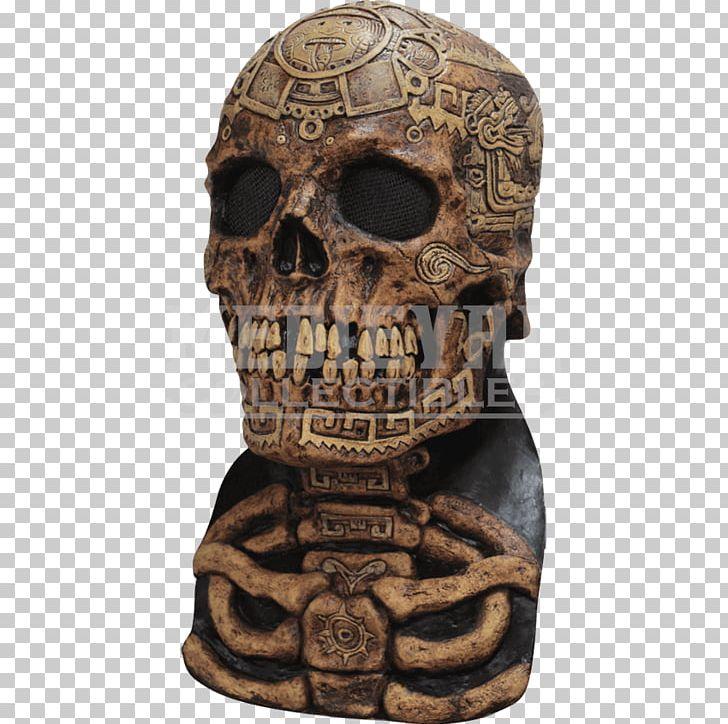 Ancient Skull Skeleton Adult Mask