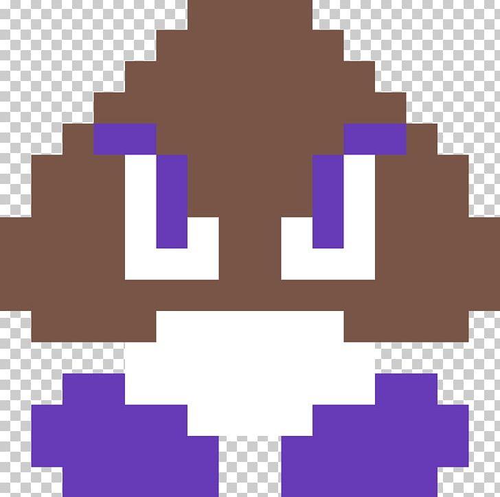 Super Mario Bros Goomba Pixel Art Png Clipart 8bit Color Anger