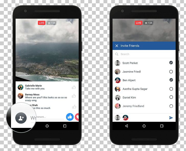 Facebook Android Streaming Media Live Streaming Broadcasting