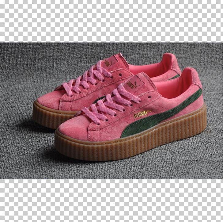 Puma Brothel Creeper Fenty Beauty Sports Shoes PNG, Clipart