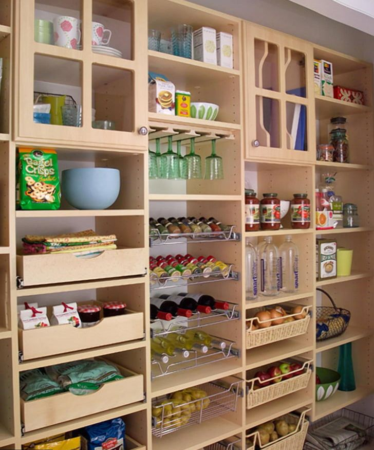Pantry Kitchen Cabinet Cupboard Cabinetry Png Clipart Adjustable Shelving Bookcase Cabinetry Closet Cupboard Free Png Download