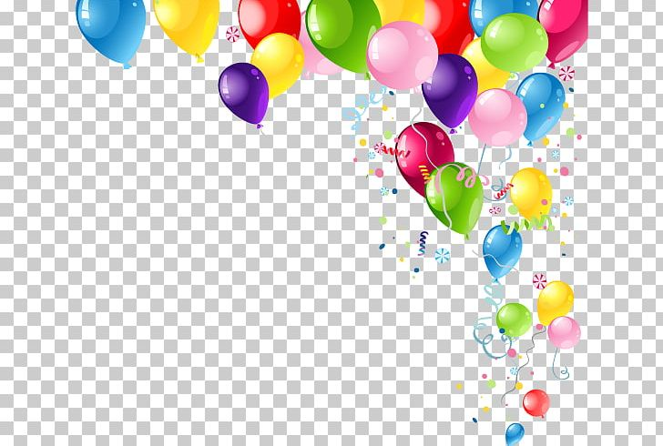Birthday Illustration Png Clipart Air Balloon Colored