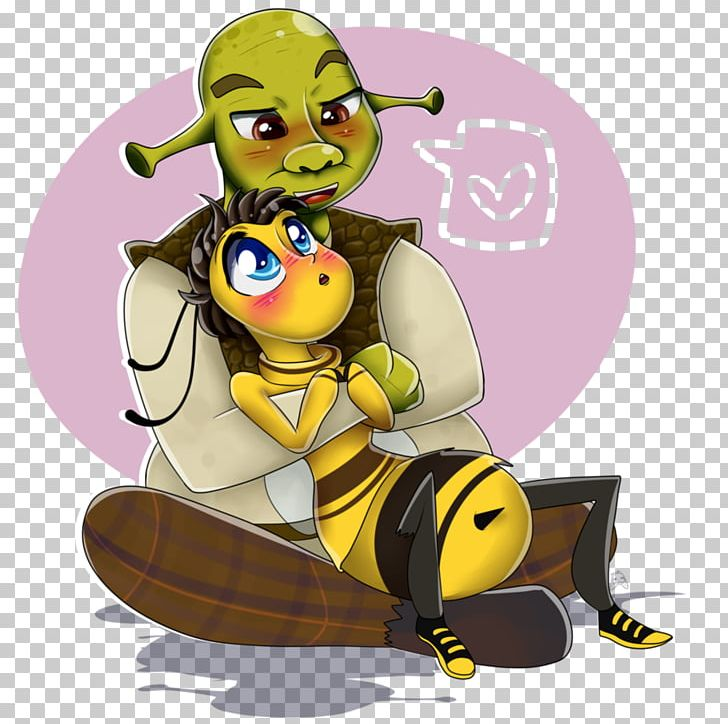 Barry B  Benson Bee YouTube Shrek Film Series Character PNG