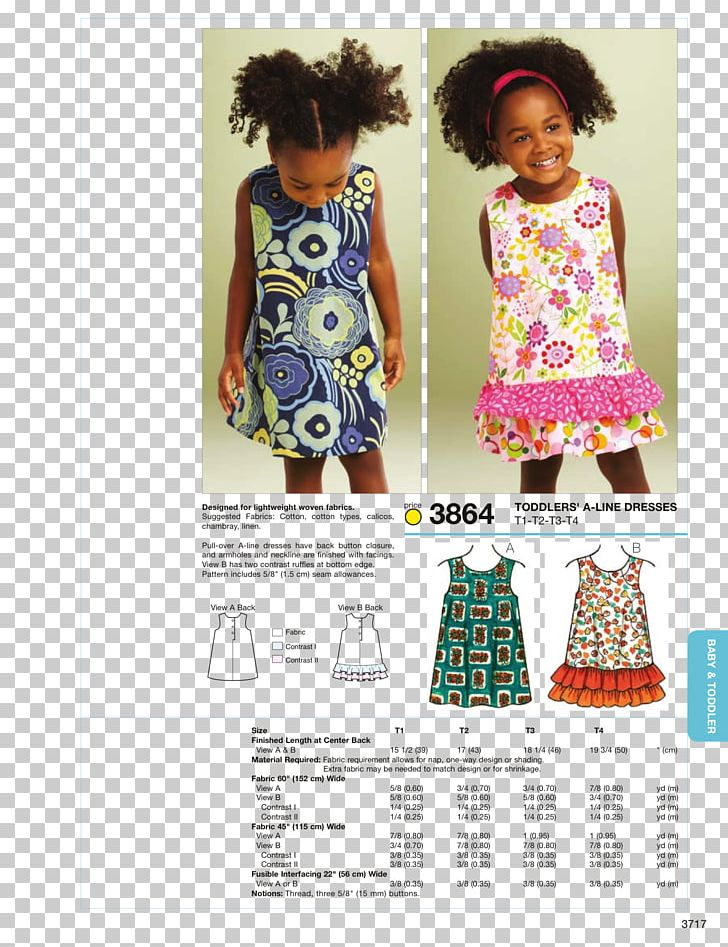 A Line Children S Clothing Dress Pattern Png Clipart Free Png Download