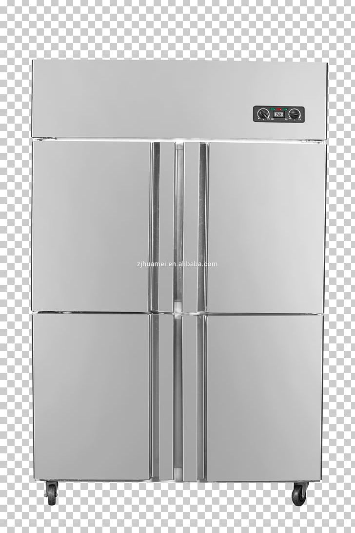Vector Clipart - Flat fridge vector. closed and open empty refrigerator.  blue fridge with healthy food, water, meet, vegetables. Vector Illustration  gg118319368 - GoGraph