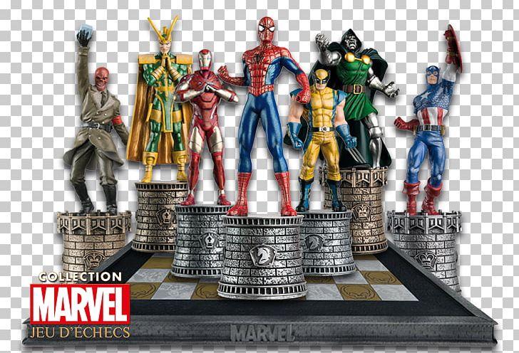 Spider-Man Chess Red Skull Absorbing Man Marvel Universe PNG