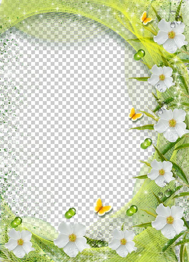 Frame Flower Png Clipart Background Border Frames Encapsulated