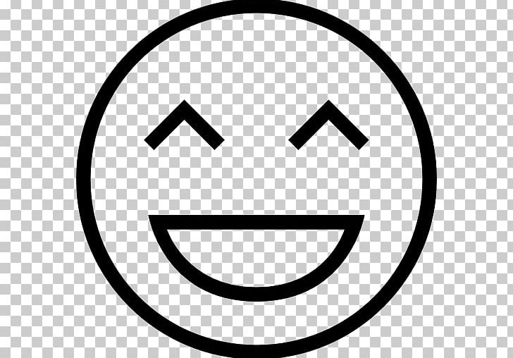 Emoticon Smiley Face With Tears Of Joy Emoji Computer Icons PNG, Clipart, Area, Black And White, Circle, Computer Icons, Emoji Free PNG Download