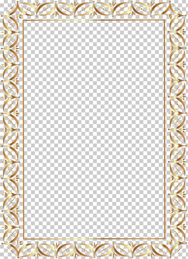 Frame transparent. Gold border png clipart