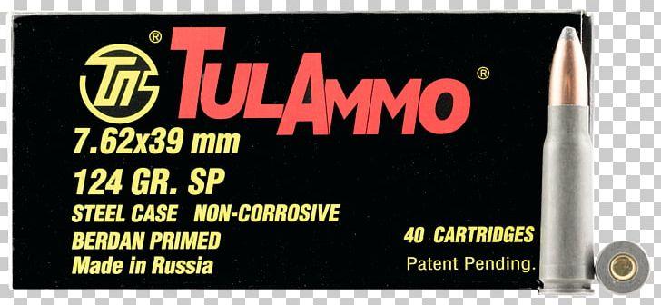 7.62×39mm Full Metal Jacket Bullet Soft-point Bullet Ammunition Cartridge PNG, Clipart, 7.62x39mm, 762 Mm Caliber, 76239mm, Advertising, Ak47 Free PNG Download