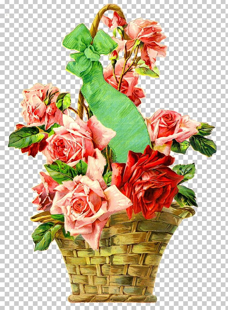 Garden Roses Floral Design Cut Flowers PNG, Clipart, Artificial Flower, Basket, Cut Flowers, Doll, Dress Free PNG Download