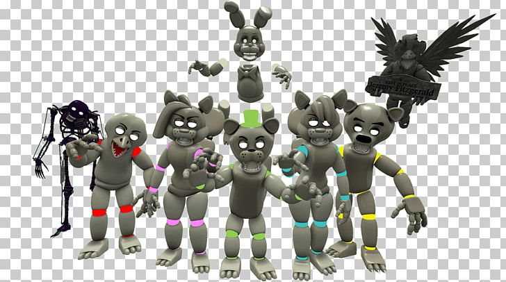 FNaF World Five Nights At Freddy's Animatronics Game PNG, Clipart
