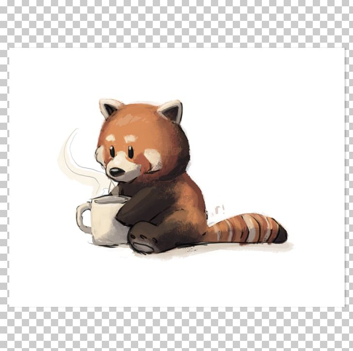 Red Panda Giant Panda Coffee Raccoon Cuteness PNG, Clipart, Animal, Bear, Carnivoran, Coffee, Cuteness Free PNG Download