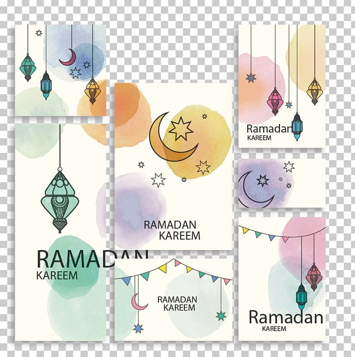 Ramadan Watercolor Painting Paper PNG, Clipart, Card, Creative Ads, Creative Artwork, Creative Background, Creative Graphics Free PNG Download