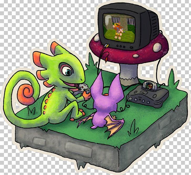 Yooka-Laylee Nintendo 64 Banjo-Kazooie Banjo-Tooie Fan Art PNG