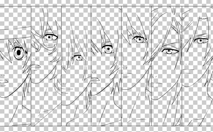 Line Art Drawing Coloring Book Uta No Prince-sama PNG, Clipart