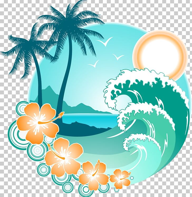 Wave beach. Wind png clipart aqua