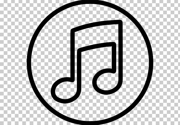 Logo Music Computer Icons PNG, Clipart, Area, Black, Black And White, Brand, Circle Free PNG Download