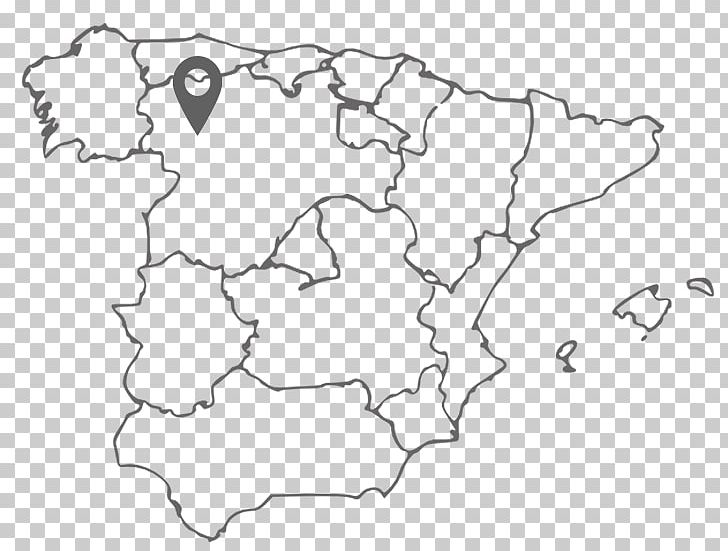 Spain Blank Map World Map Coloring Book PNG, Clipart, Area ...