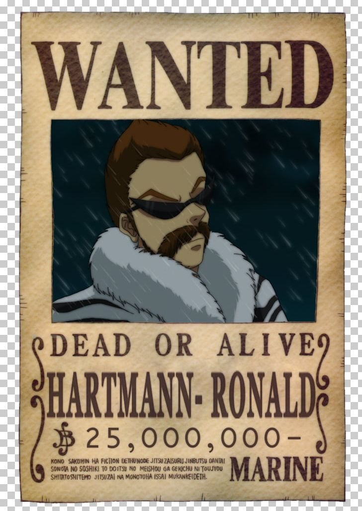 Usopp Nico Robin Monkey D Luffy One Piece Wanted Poster Png