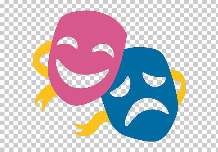 Emoji Musical Theatre Mask Drama PNG, Clipart, Art, Cheek, Comedy