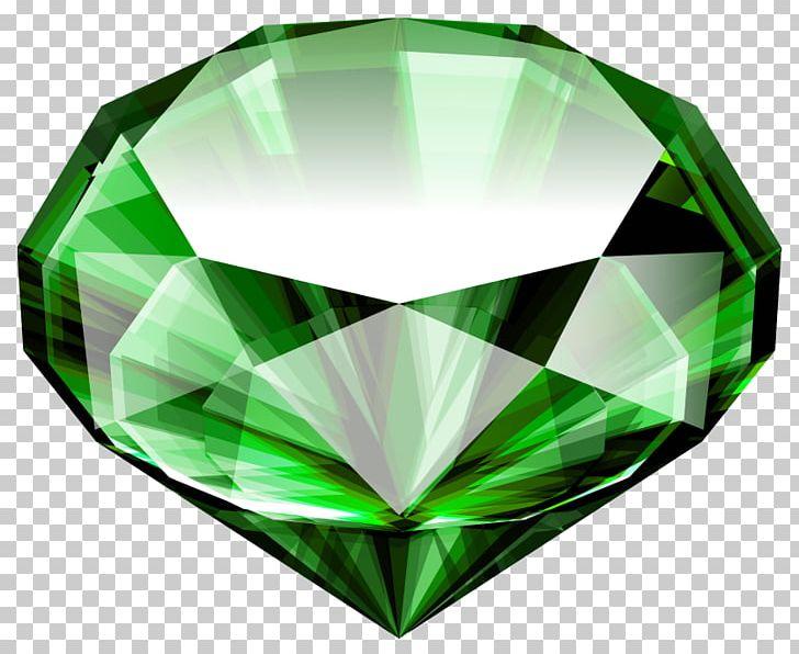 Diamond large. Emerald gemstone png clipart