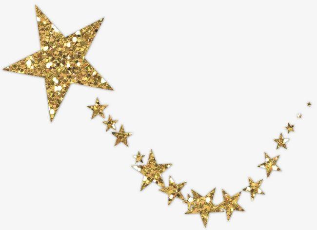 Gold Stars PNG, Clipart, Cartoon, Creative, Gold Clipart ...