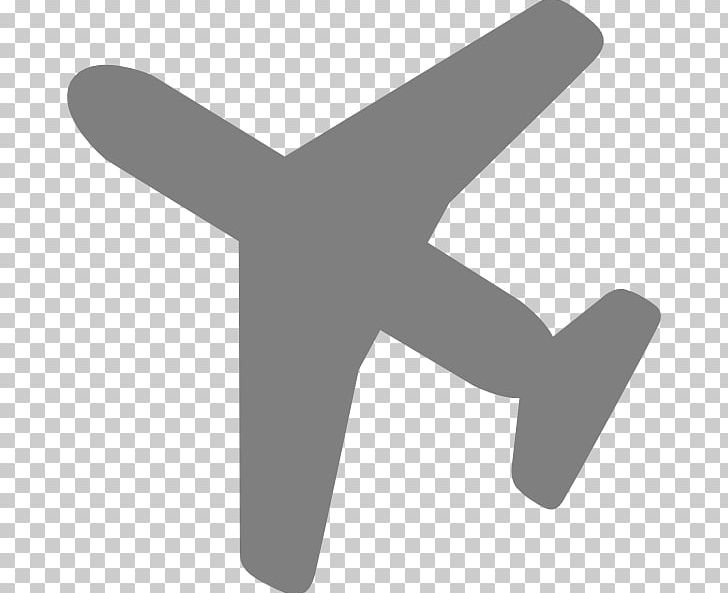 Airplane Computer Icons Flight Silhouette Png Clipart Aircraft Airplane Air Travel Angle Black Free Png Download