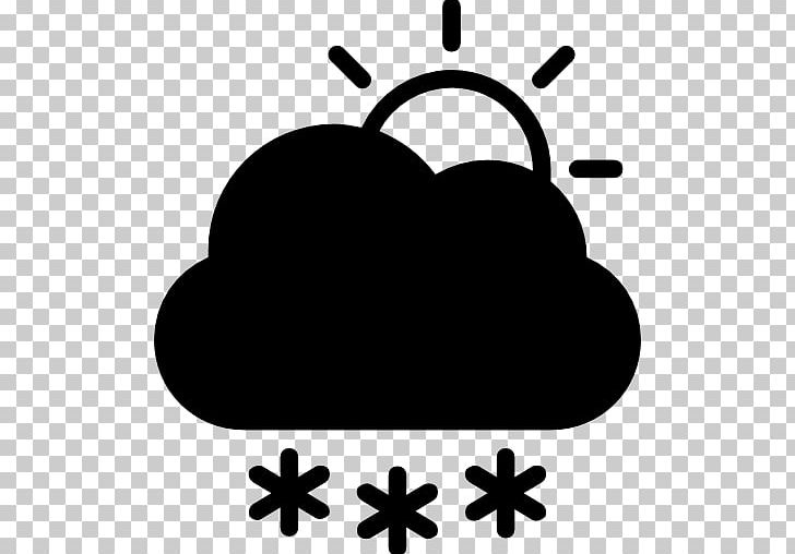 Fog snow. Computer icons symbol cloud