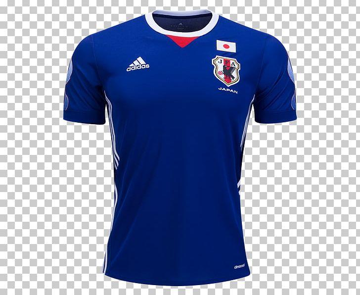 size 40 ebd27 1a8fd Japan National Football Team T-shirt Jersey Adidas FIFA ...