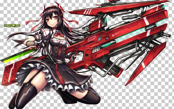 Anime Gun Concept Art
