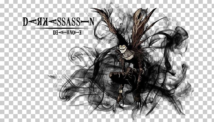 Ryuk Light Yagami Death Note Animation Png Clipart