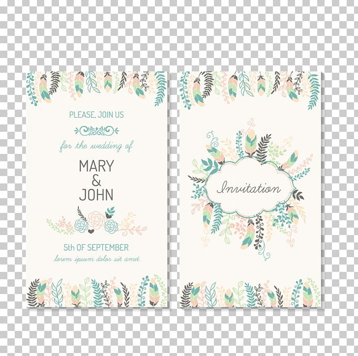 Wedding Invitation Marriage Greeting Card Png Clipart